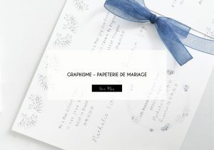 GRAPHISME PAPETERIE DE MARIAGE