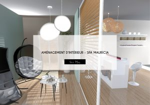 Projet spa mauricia ameneagement interieur latelierdelisa nime