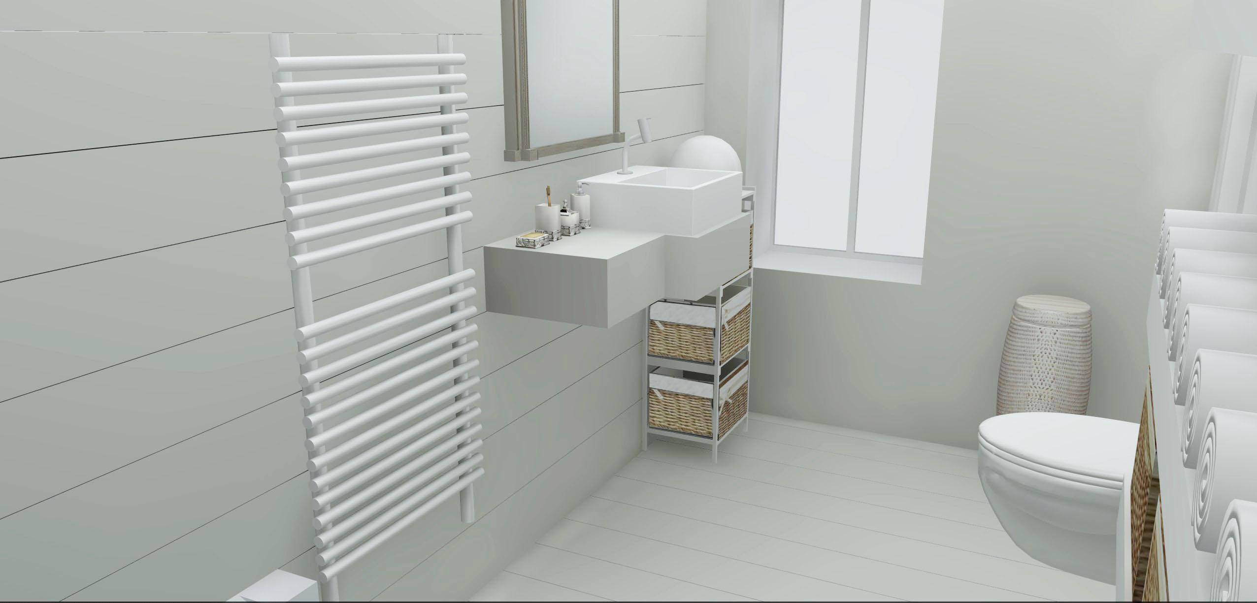 Architecture Maison Nimoise SDB étage L'Atelier d'Elisa
