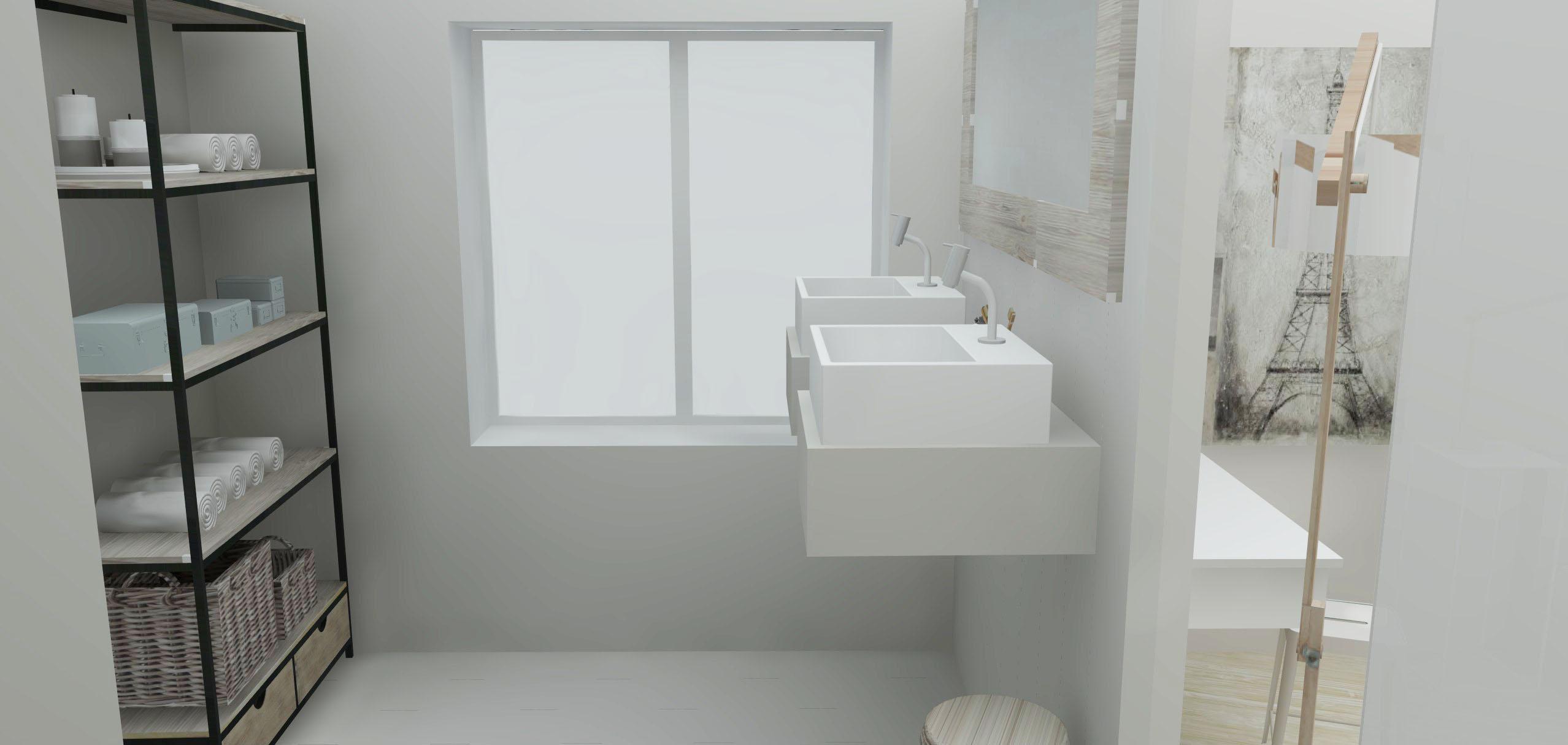 Architecture Maison Nimoise SDB suite parentale L'Atelier d'Elisa