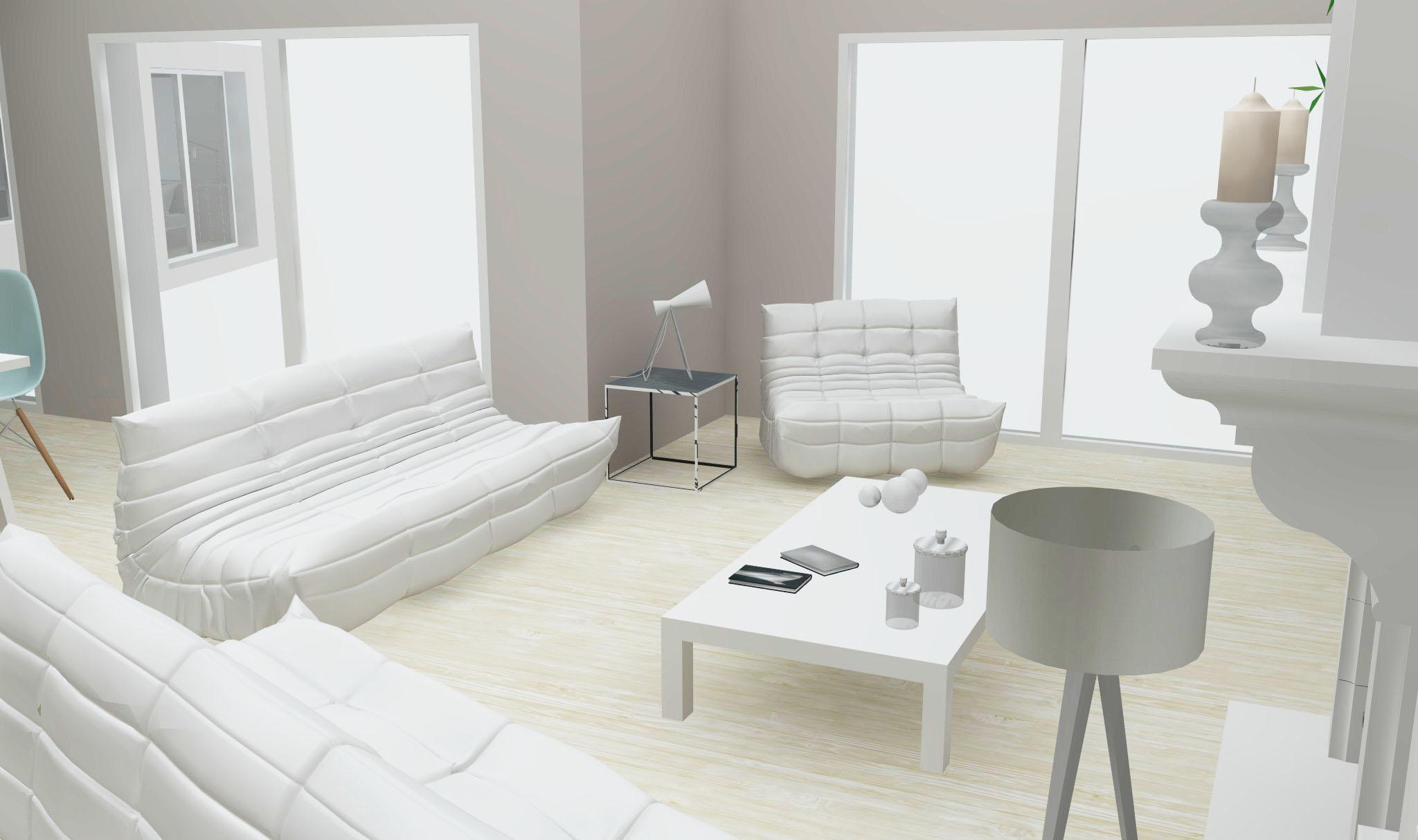 Architecture Maison Nimoise salon L'Atelier d'Elisa