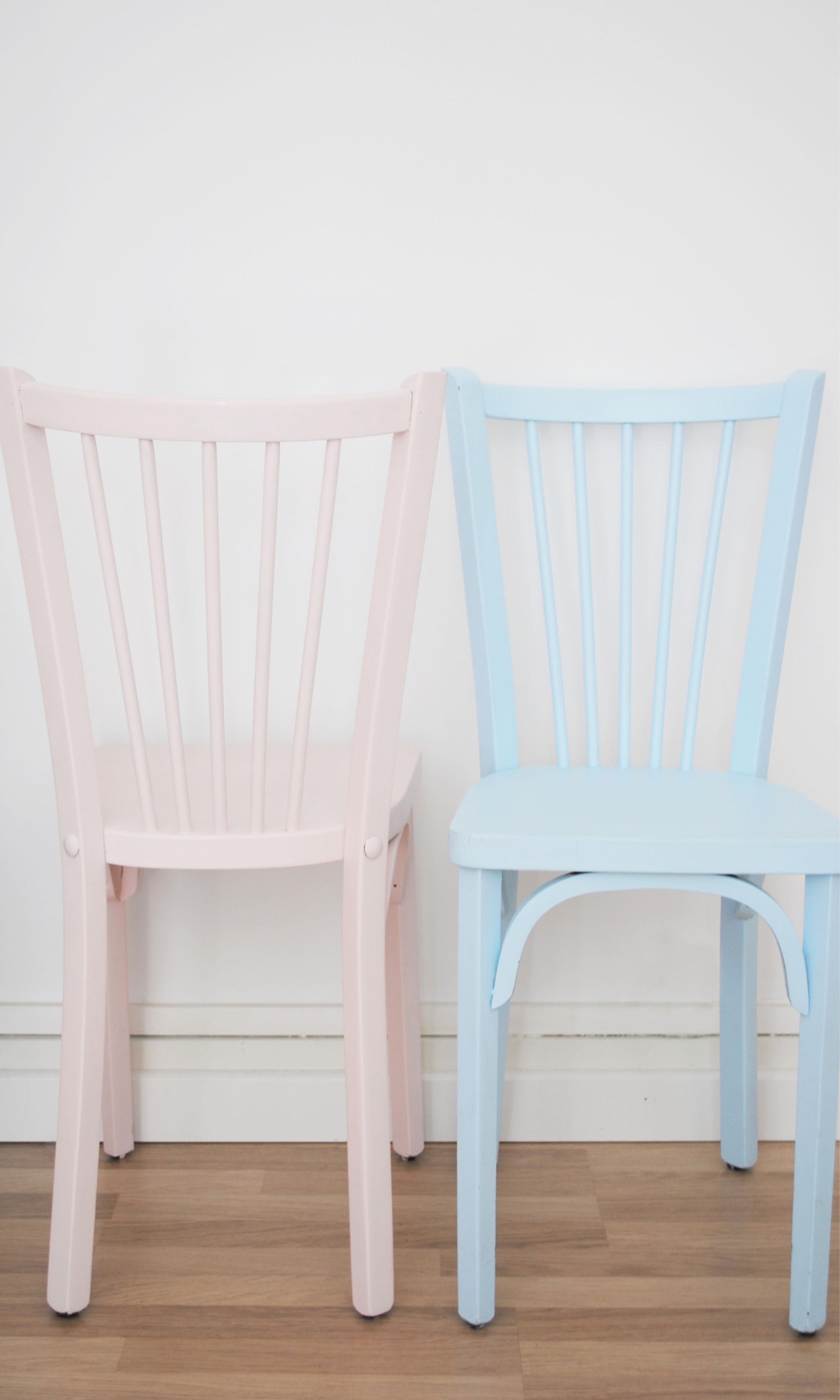 Chaise bistrot restauration de mobilier l'Atelier d'Elisa3
