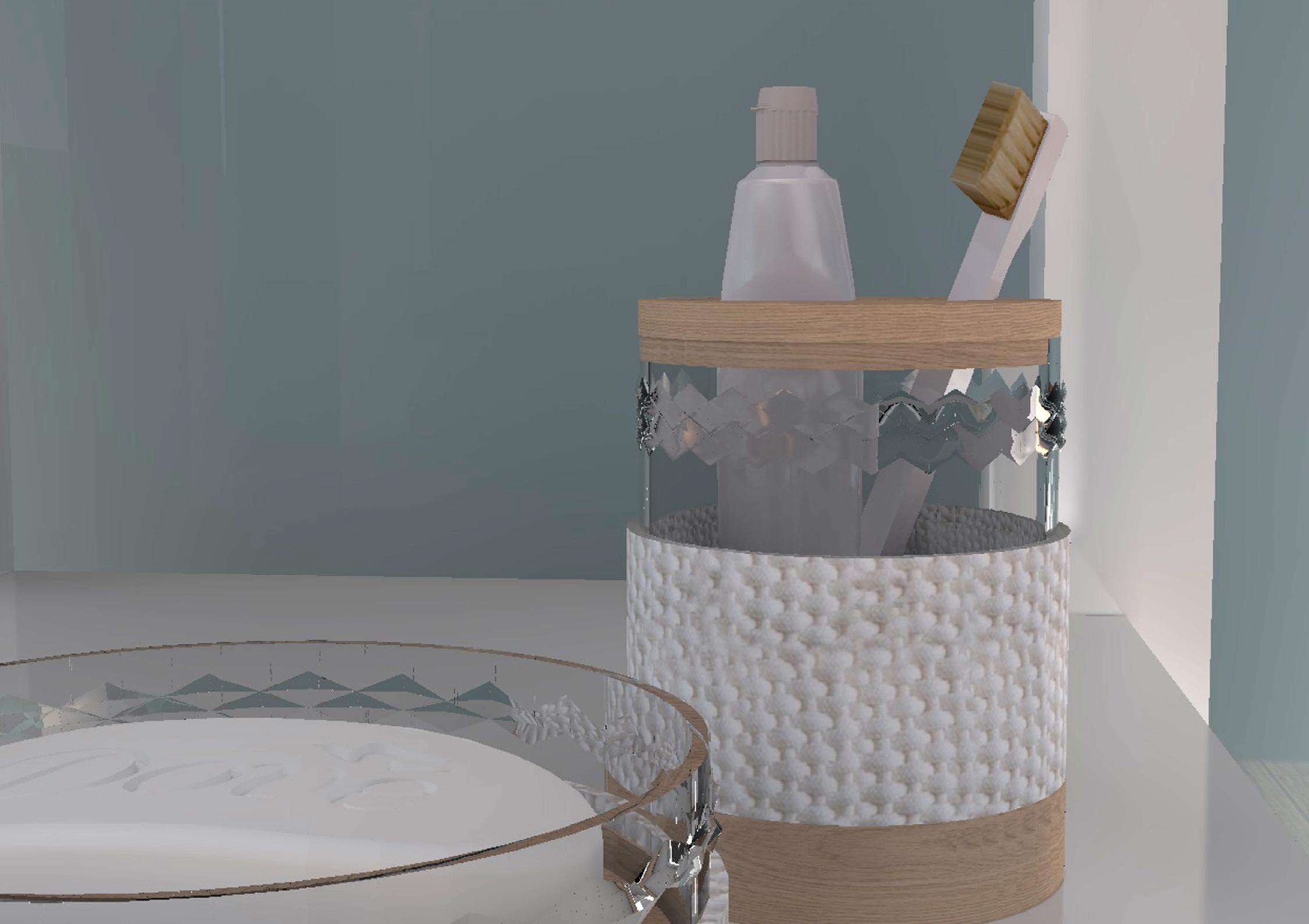 Design objet mon cocon détail cristal l'Atelier d'Elisa