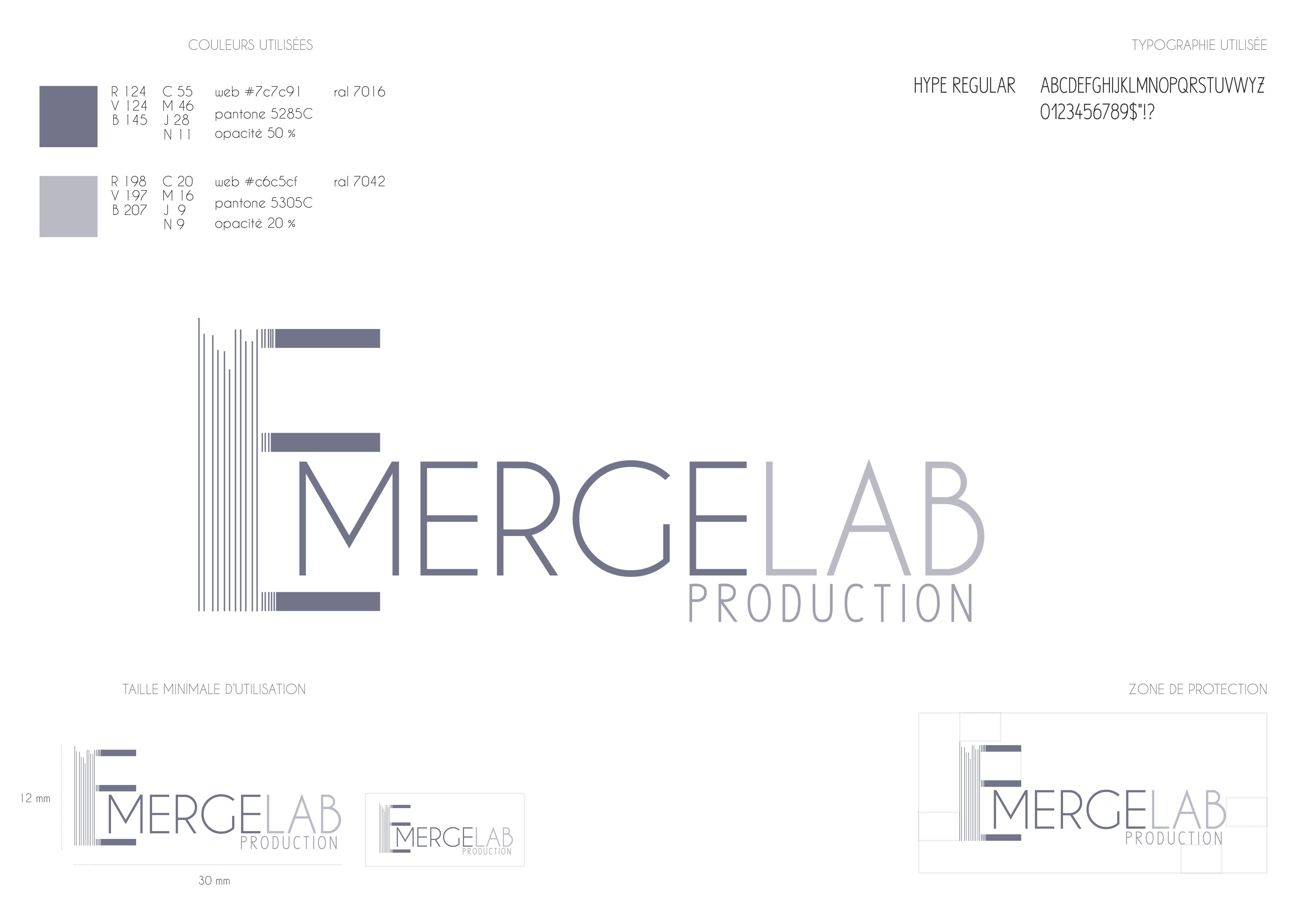 Elisa Koubi Projet Emergelab logo latelierdelisa