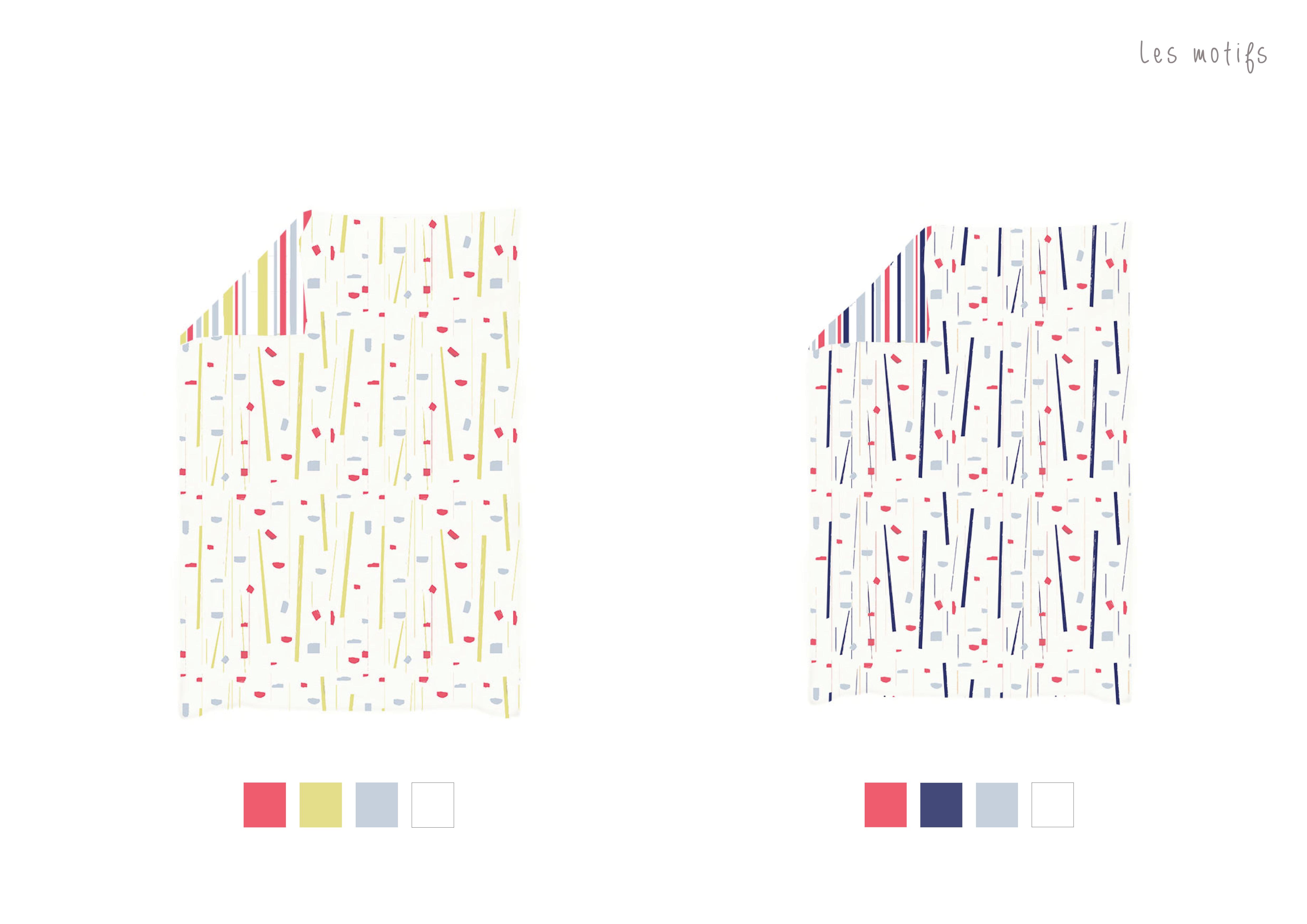 Graphisme motifs textile linge de lit latelierdelisa nimes11