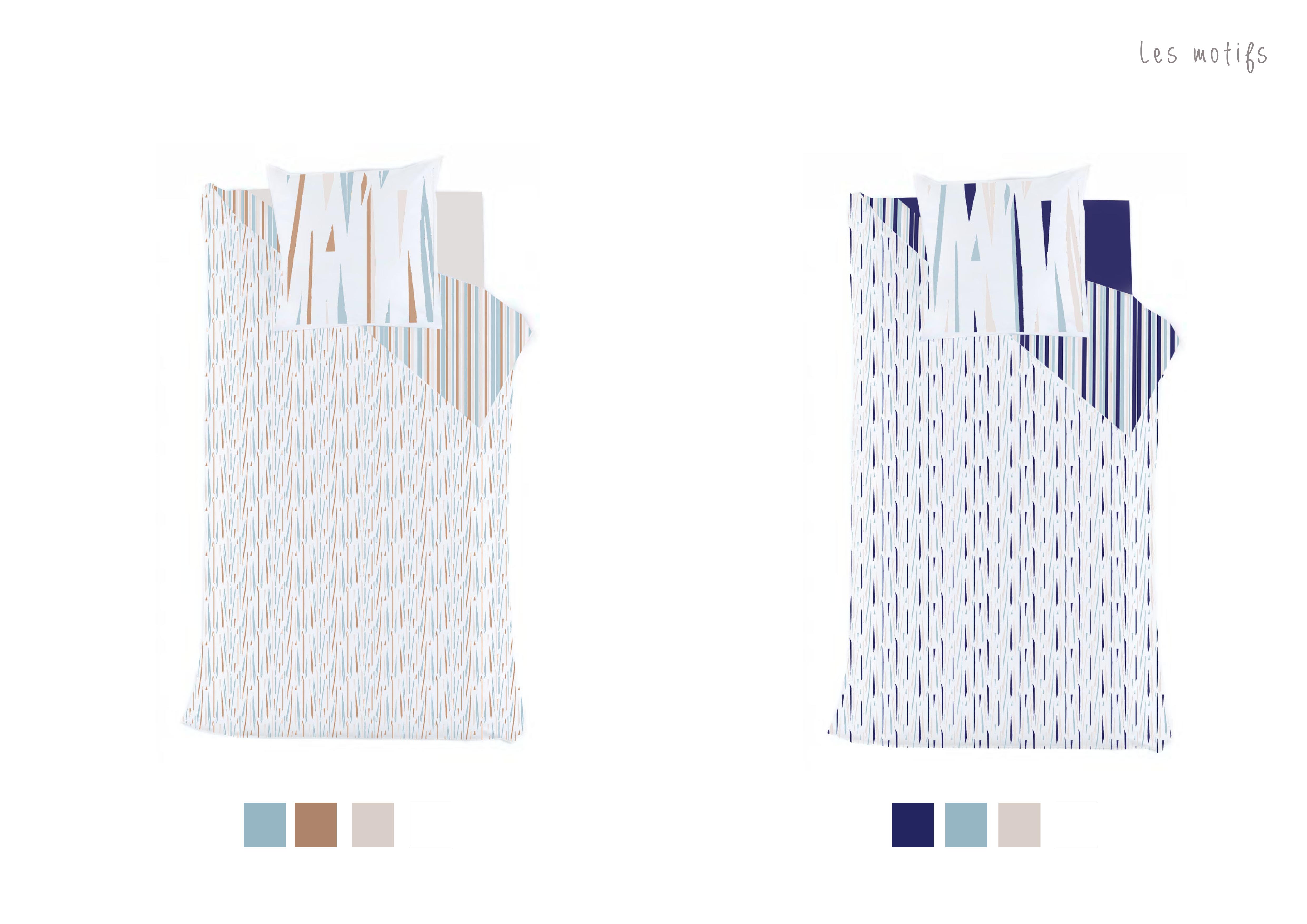 Graphisme motifs textile linge de lit latelierdelisa nimes8
