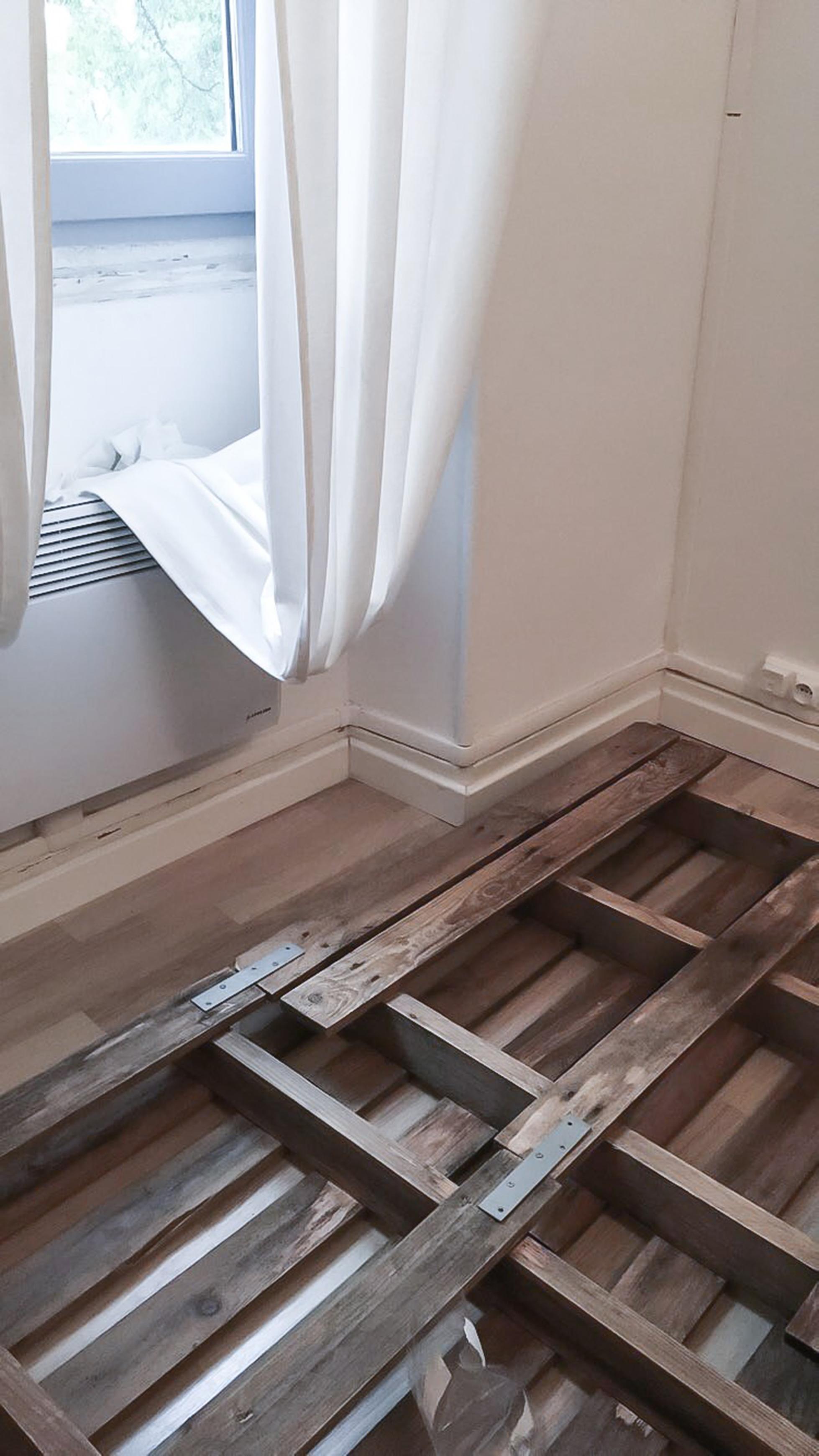 diy – une tÊte de lit en palettes | l'atelier d'elisa