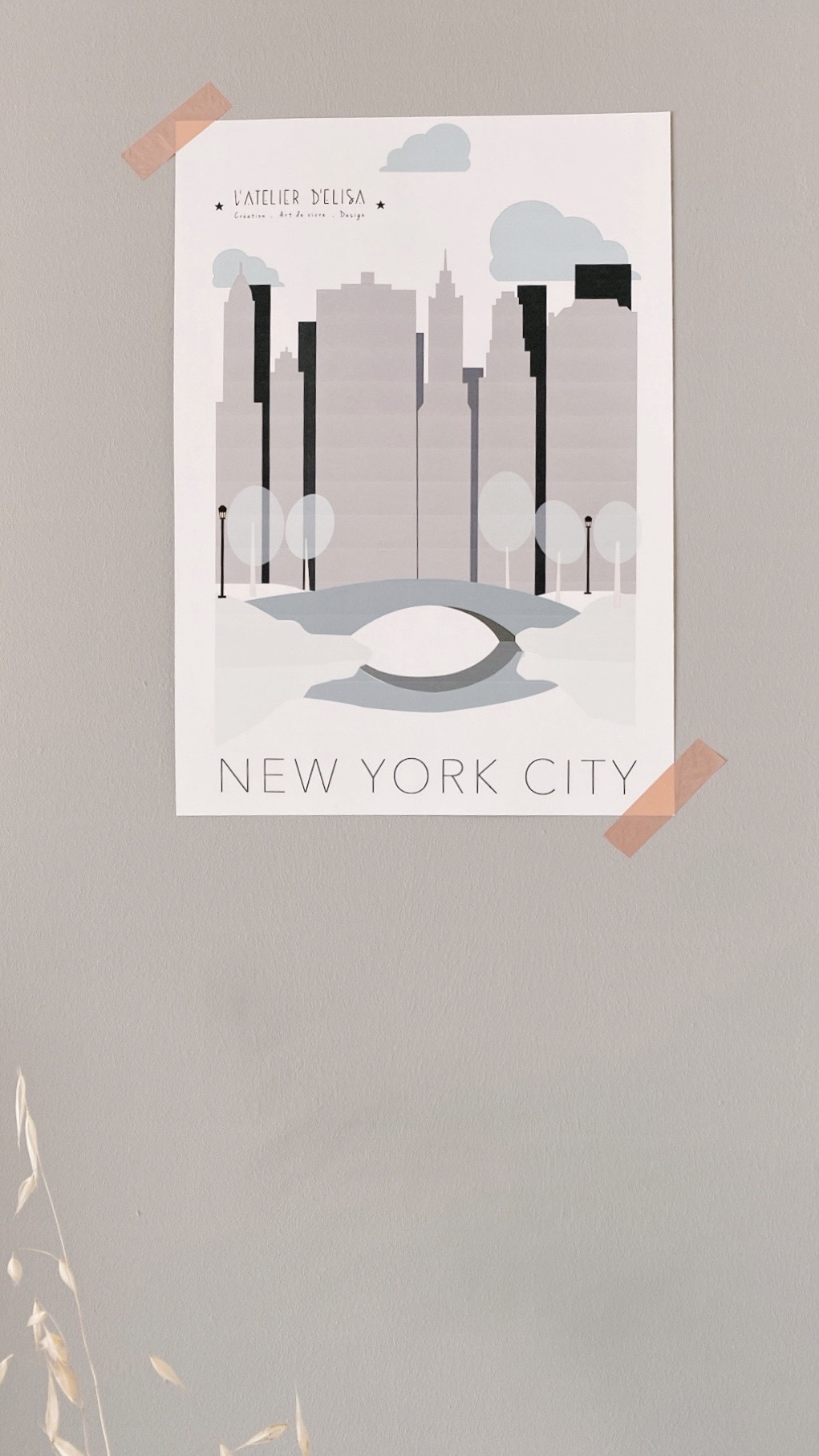 AFFICHE NYCITY