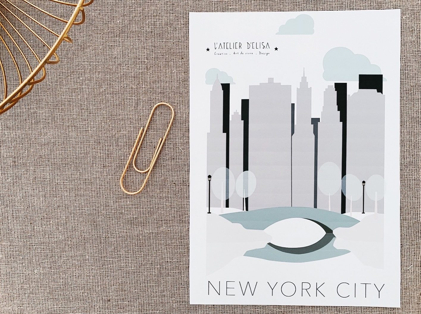 AFFICHE NEW YORKAFFICHE NYCITY