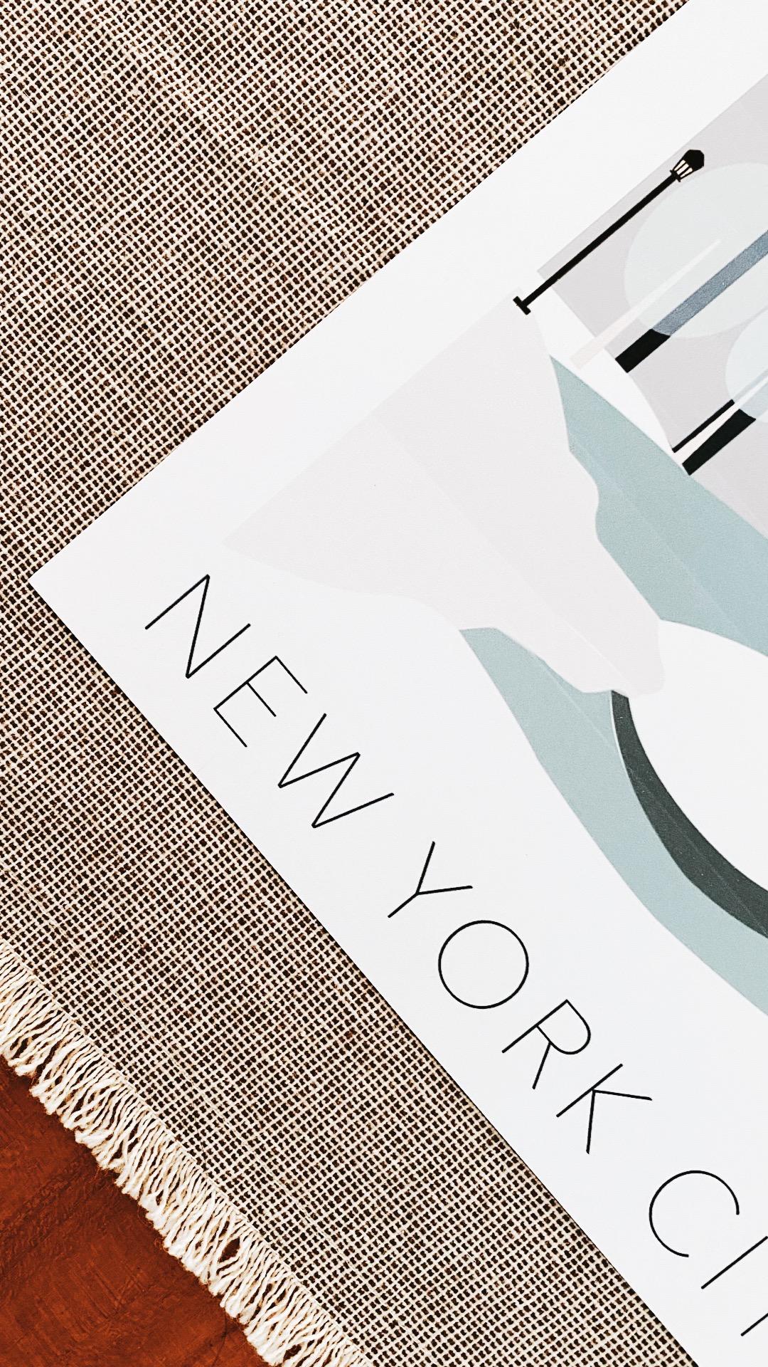AFFICHE NEW YORKAFFICHE NYCITY